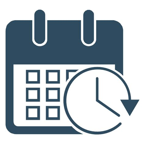 time vector management design elements management pictograms