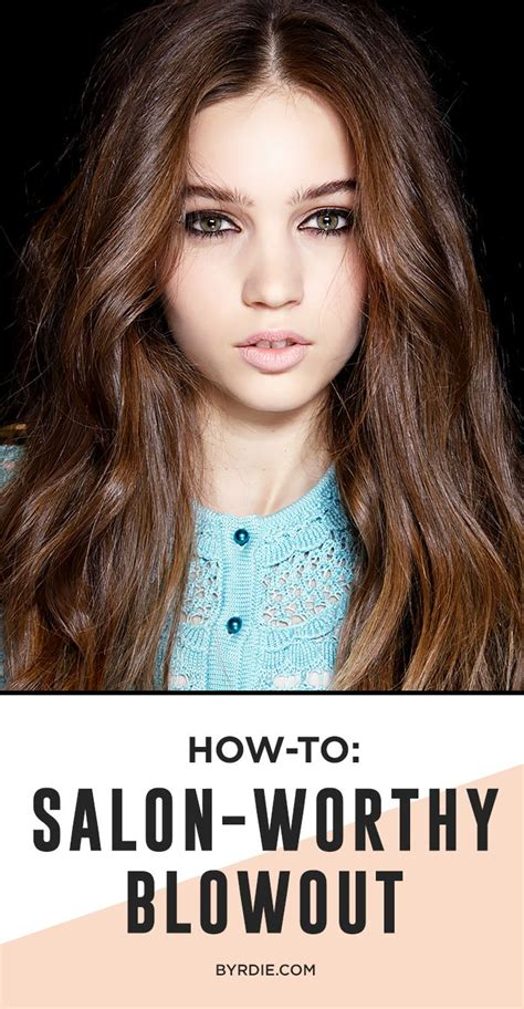 diy volume 4 tricks for faking a salon blowout at home