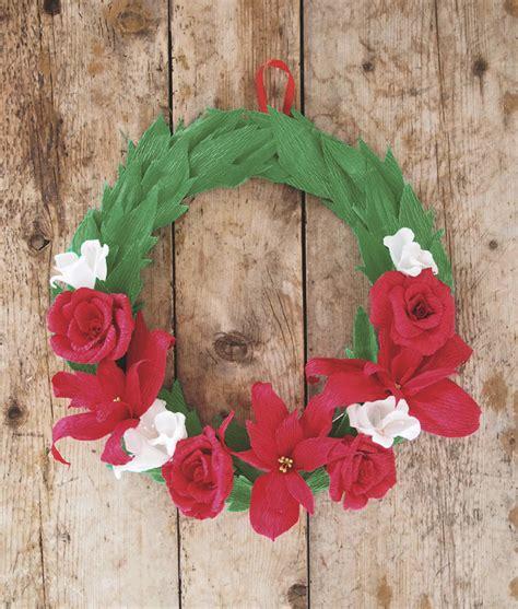 Piring Plate Florist illustrationcrepe paper wreath tutorial