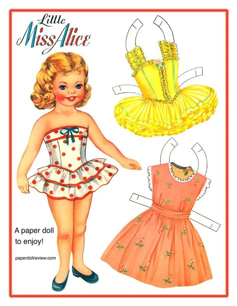 Paper Doll - vintage paper doll find now thats peachy