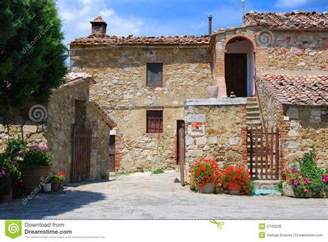 tuscany house royalty  stock  image