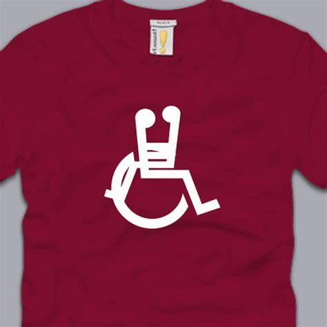maroon gag wheelchair sex t shirt s m l xl 2xl 3xl funny handicap