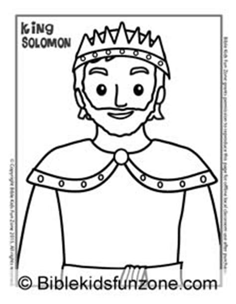 fair king solomon coloring pages coloring for funny solomon builds free father s day crafts for kids david and solomon lesson