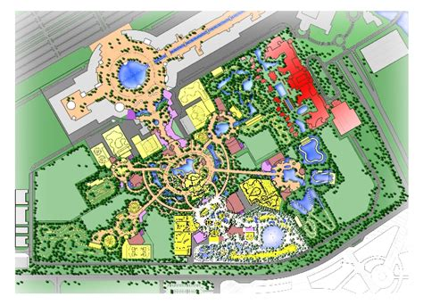 amusement park floor plan edg projects