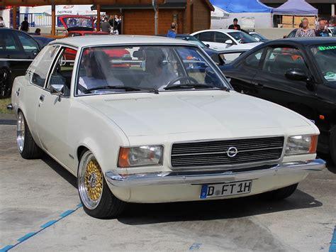 Opel Rekord D Bei Den Grefrath Tuning Days 11 8 2013