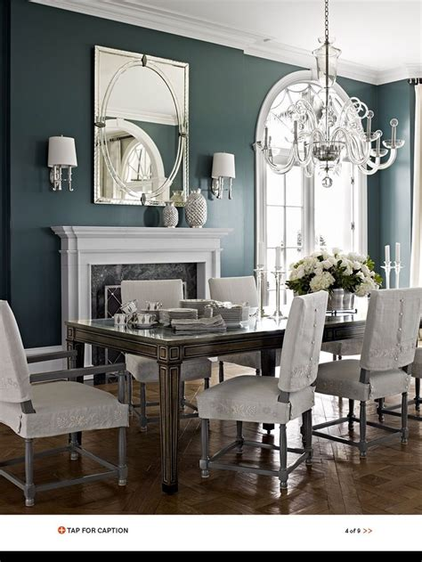 teal dining room dining room with teal blue walls for the home