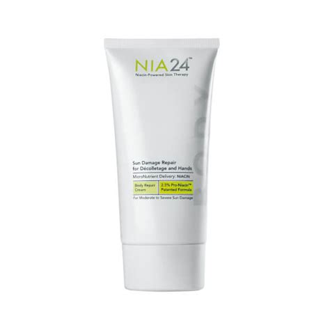 Sun Repair Damage Products List by Nia24 Sun Damage Repair For Decolletage And Skinstore