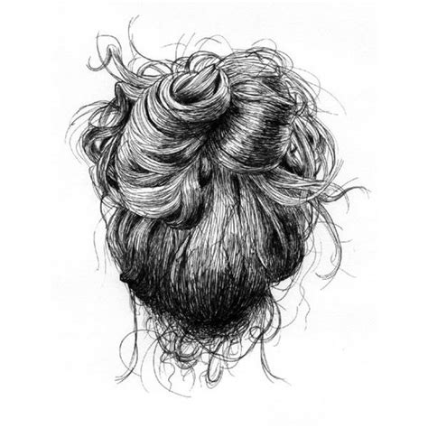 doodle hair bun 17 best images about biro sketches on alberto