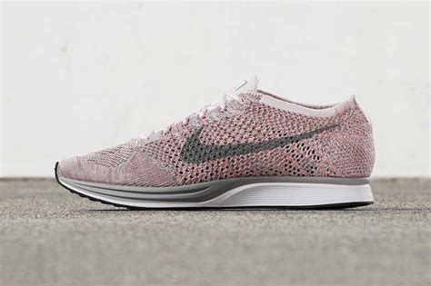 Nike Flyknit Racer 2 0 Soft Pink White the new nike flyknit racer quot macaron pack quot is pretty sweet