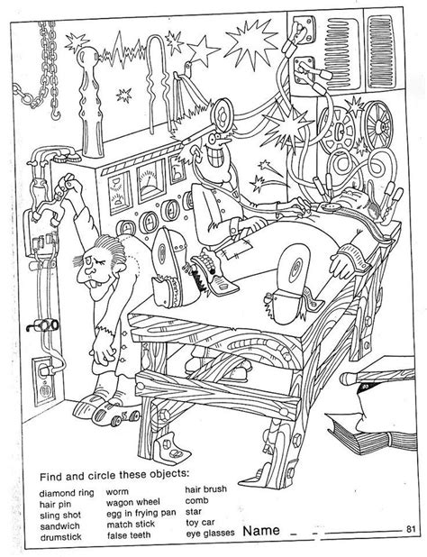 free halloween coloring pages for middle school 21 best images about halloween puzzles on pinterest free