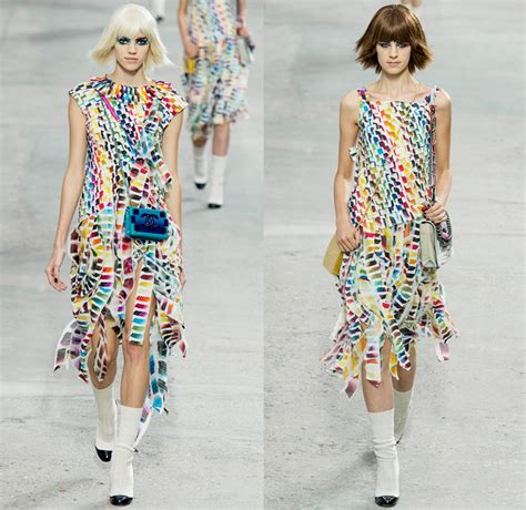 dia spring summer 2014 couture the rainbow collection pin chanel 2014 spring summer womens runway denim jeans