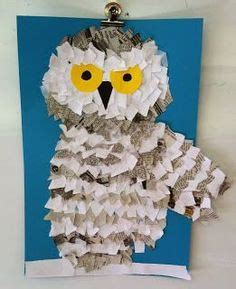 snowy owls tissue copy paper newspaper room