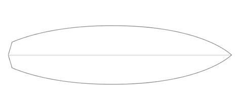 the gallery for gt blank surfboard template