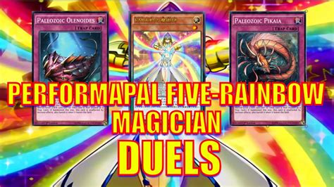 Rainbow Five by Yugioh Performapal Five Rainbow Magician Duels Deck