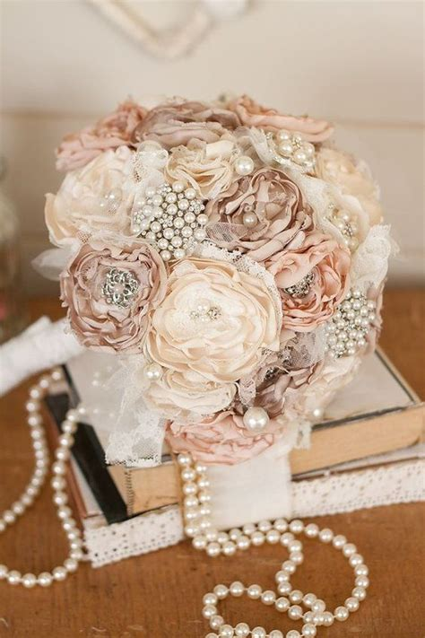 DIY Satin Flower Bouquets
