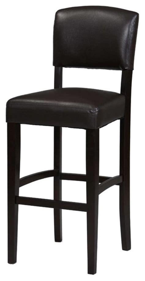 monaco 30 inch stool espresso modern bar stools and