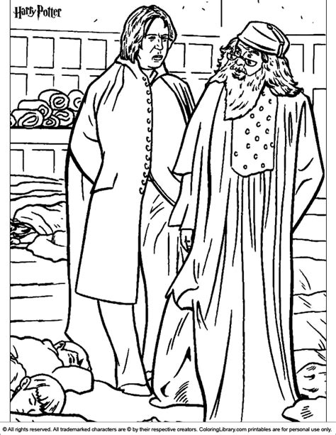 harry potter coloring pages snape harry potter coloring picture