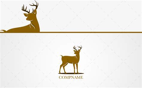 logo deer prestigious golden deer logo for sale lobotz