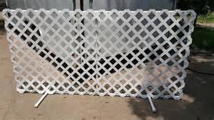 Pvc Trellis Panels Diy Lattice Fence Panels Or Bust Dogjoytraining