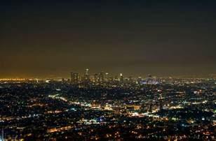 light los angeles city lights