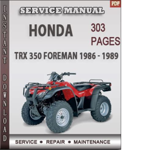 service manual online car repair manuals free 1986 buick electra parking system service 1986 honda trx 350 owners manual