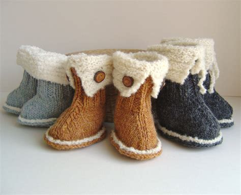 knitted baby ugg boots knitting pattern baby booties and easy knitting tutorial
