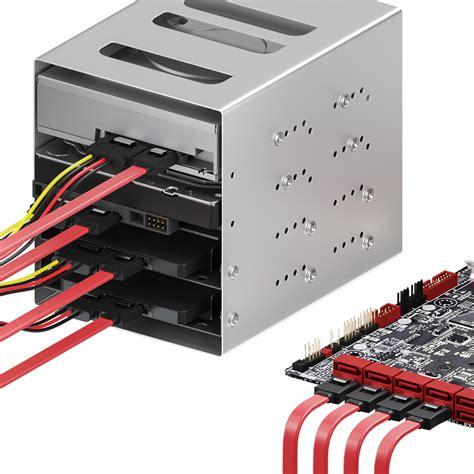 Kabel Sata Set deleycon sata kabel set 4x sata iii kabel strom adapter
