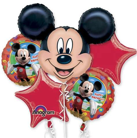 17 Cubez Mickey Mouse mickey mouse birthday balloon bouquet