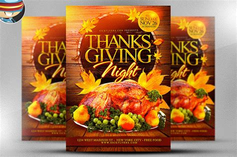 Thanksgiving Flyers Free thanksgiving flyer template flyer templates on