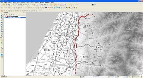 qgis wmts tutorial qgis及open geodata資源網 sinica 187 地質敏感區範圍數值檔 shp