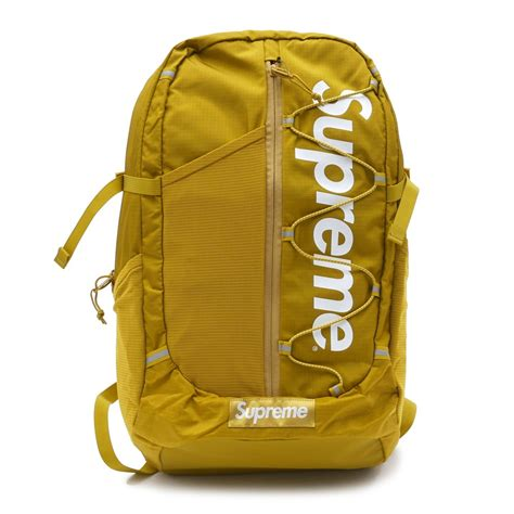 supreme backpack supreme tonal backpack mustard millioncart