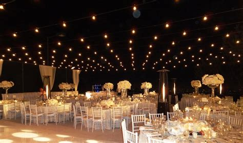 Lighting Palace Party Rental Italian String Lighting