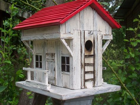 Handmade Birdhouses - inn and tavern country birdhouse handmade country