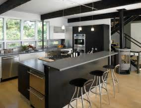 Black Kitchen Designs by 13 Beautiful Kitchen Island Ideas Interior Design