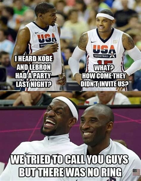 Funny Lebron Memes - heard kobe n lebron had a party funny pictures quotes