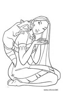 pocahontas coloring pages getcoloringpages
