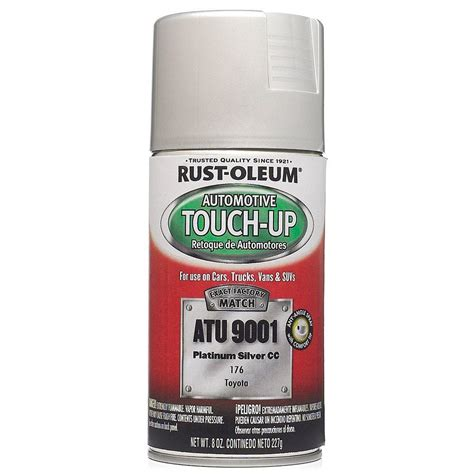 home depot car touch up paint rust oleum automotive 8 oz platinum silver auto touch up