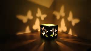boxes with lights butterfly lantern l table light