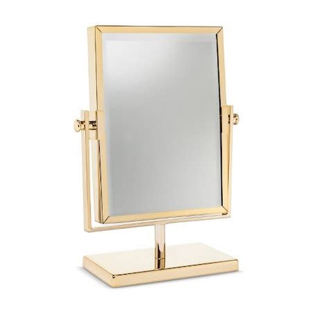 mirror target gold double sided vanity mirror look 4 less and steals