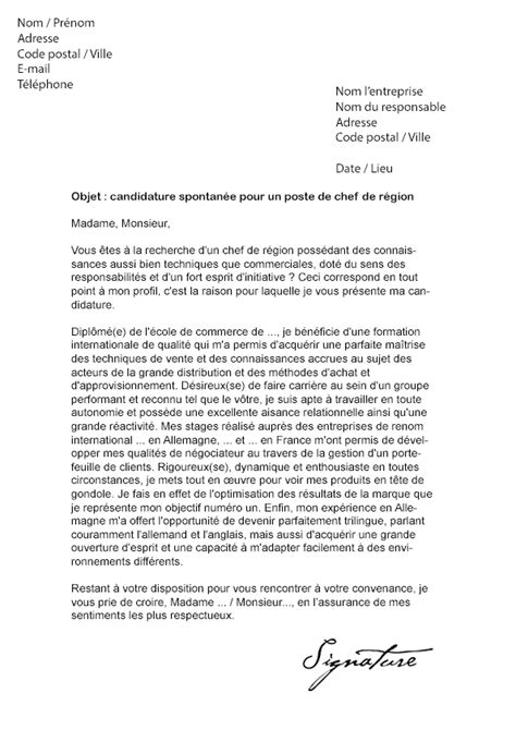 Lettre De Motivation Chef Barman Lettre De Motivation Chef De R 233 Gion Mod 232 Le De Lettre