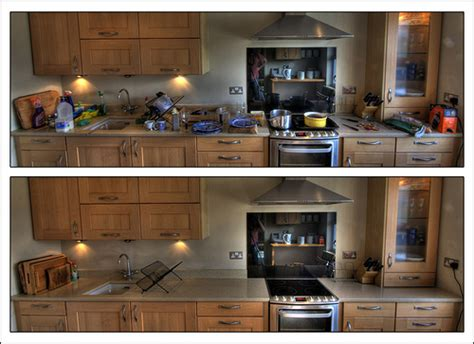 the minimalist kitchen declutter your kitchen kitchen before and after my first diptych a little