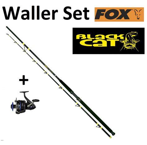 waller set black cat rute 3 20m 300 600g fox diablo rolle 750