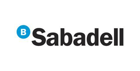 banco sabadell bank logos logo vector banco sabadell vector logo