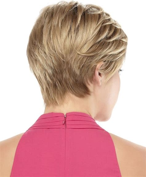 short hairstylescuts for fine hair with back and front view short hair styles for thin hair back views short