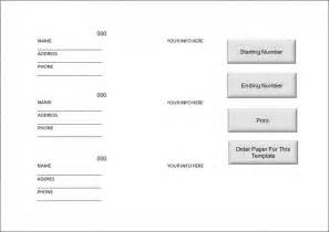 free printable raffle ticket templates doc 609255 free raffle ticket template anuvratinfo