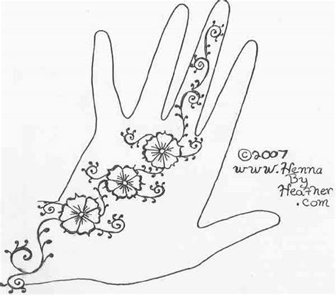 simple henna patterns  patterns