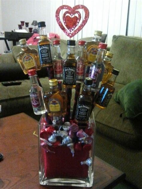 liquor valentines gifts valentines day liquor bouquet holidays