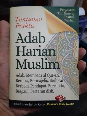 Doa Dan Dzikir Sehari Hari Menurut Tuntunan As Sunnah Yang Shahih buku saku tuntunan praktis adab harian muslim toko