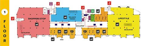 shopping mall floor plan gopalan signature mall gopalan mall