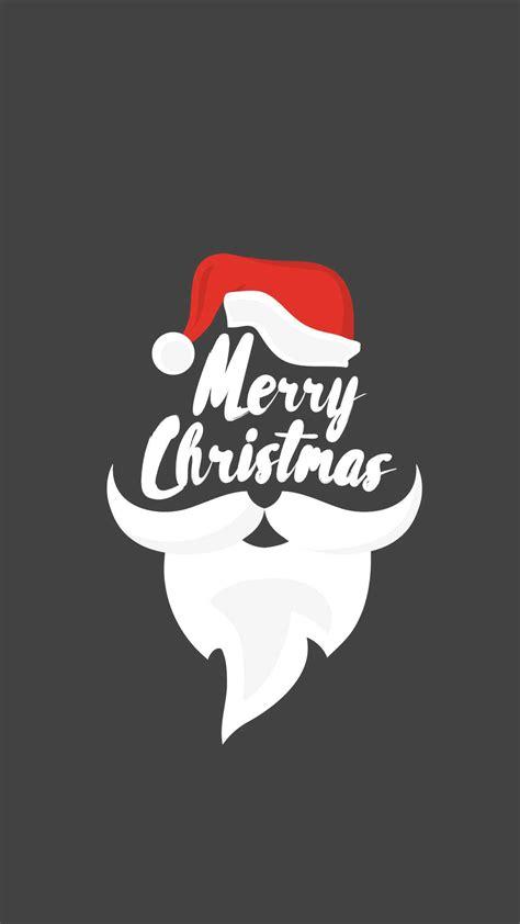 merry christmas santa beard iphone wallpaper iphone wallpapers
